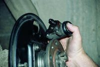Замена тормозных цилиндров